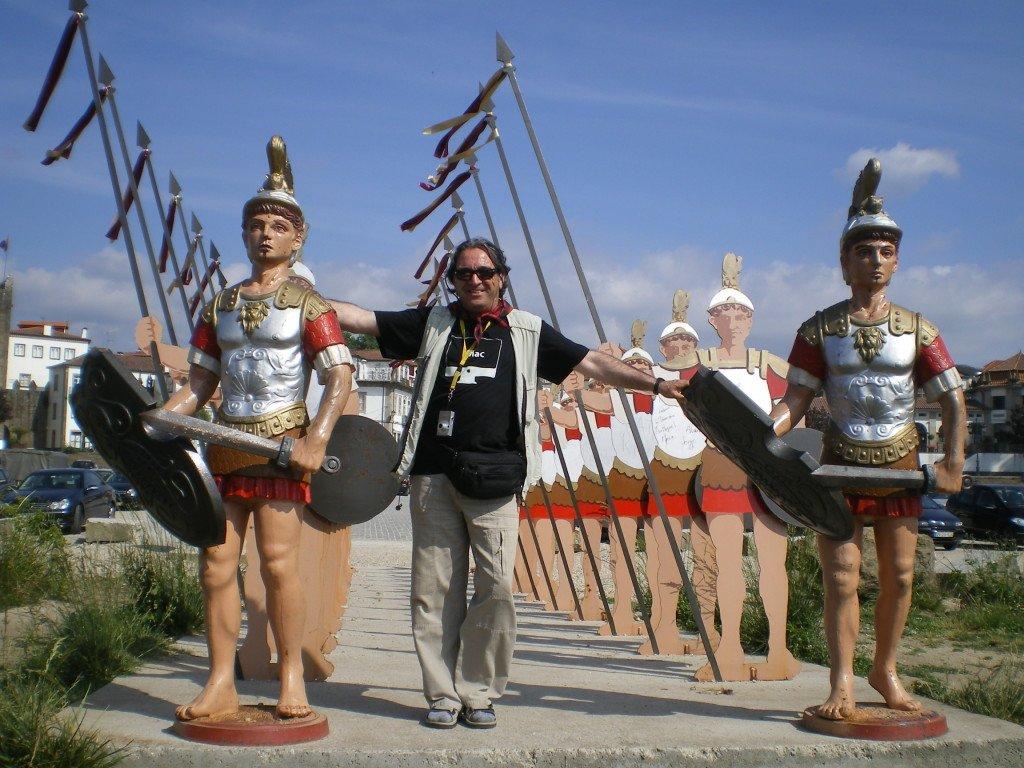Guillermo con la Legión Romana