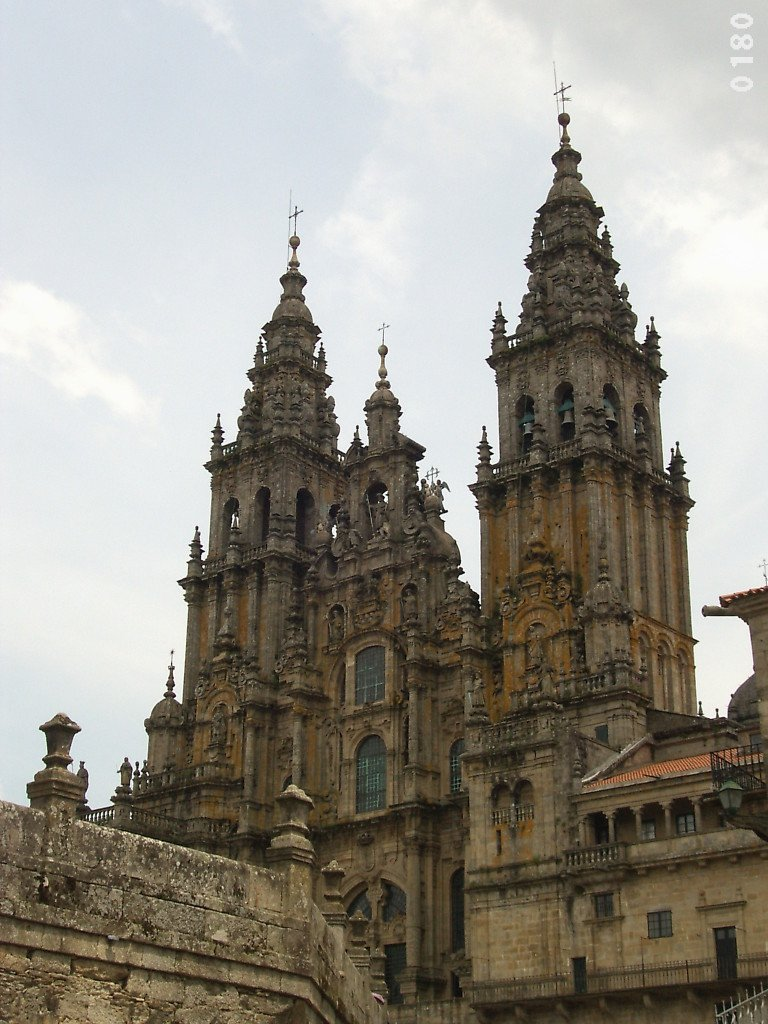 Catedral de Santiago. Camino 2004