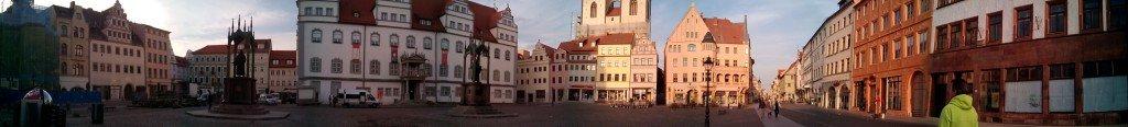 Panorámica de la plaza