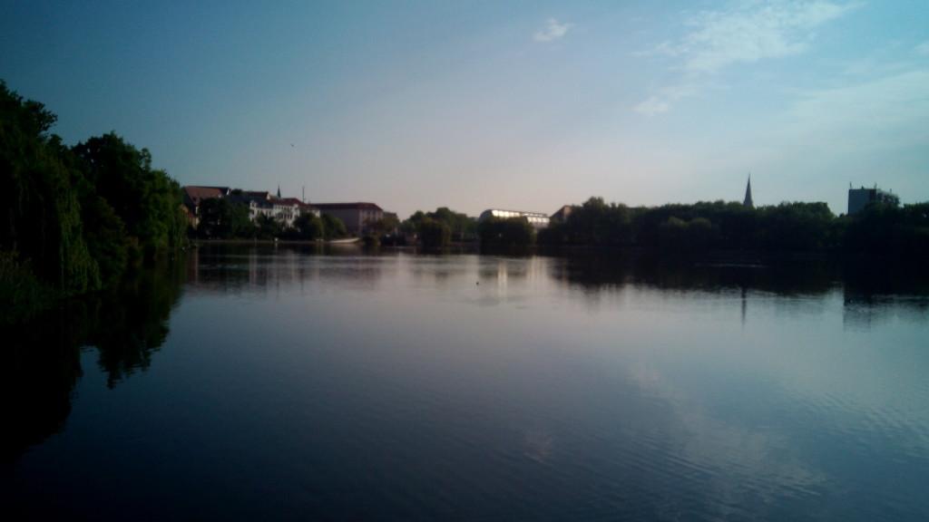 Río Unstrut, afluente del Saale