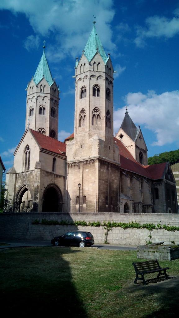 Freyburg Marienkirche. Para entendernos, la iglesia de Santa María.