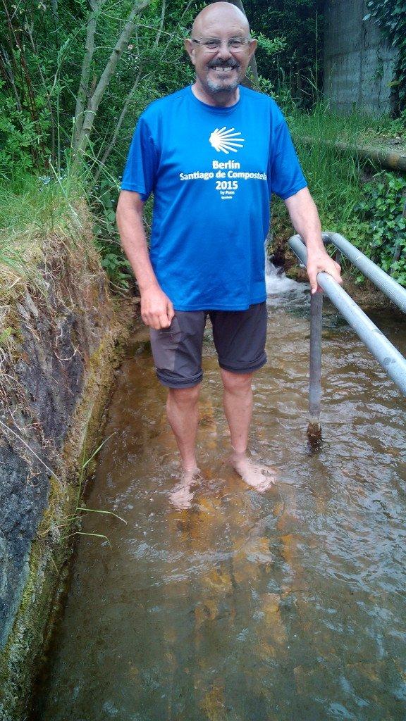 Arroyo de agua helada