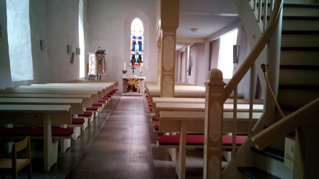 Interior de la Iglesia de Röhrda