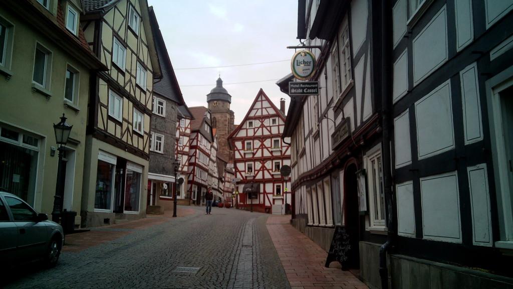 Una calle de Homberg (Efze)