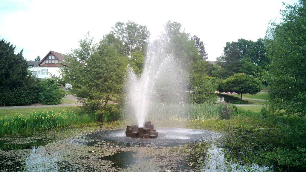 Una fuente en Stadtallendorf
