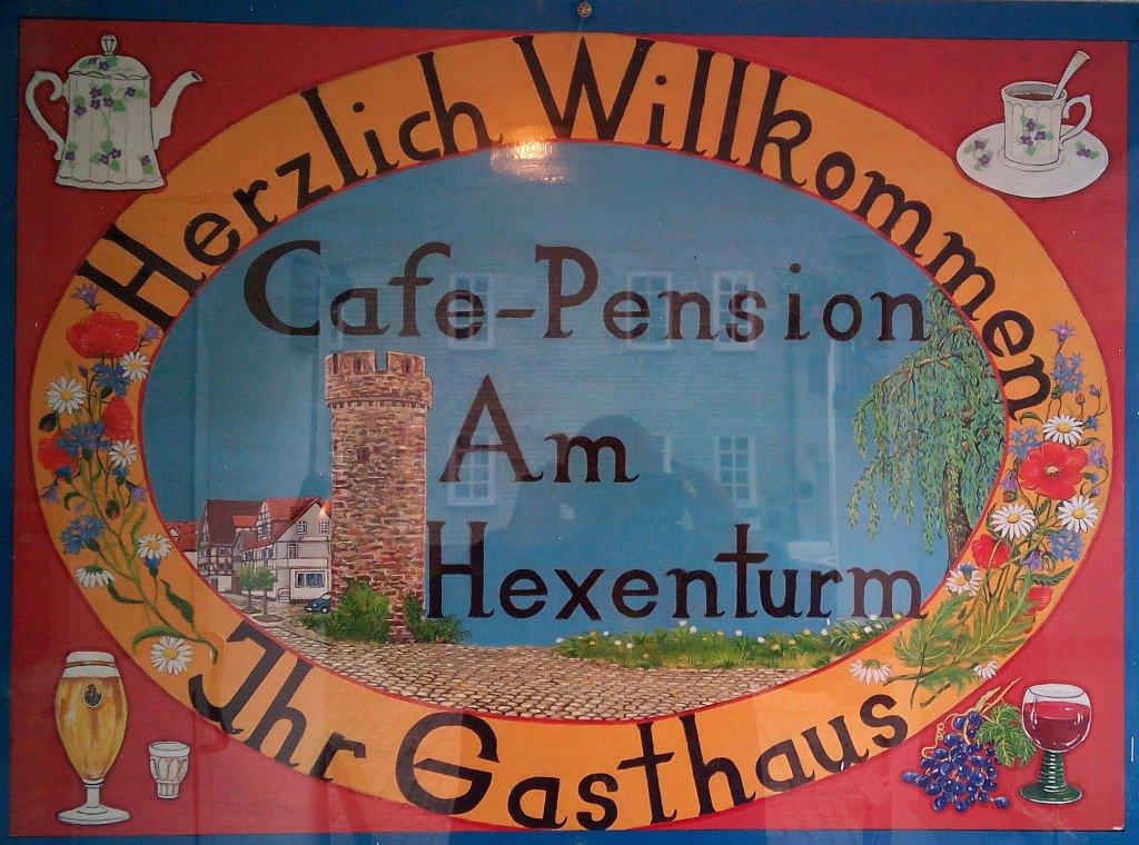 Café pensión Am Hexenturm, Treysa