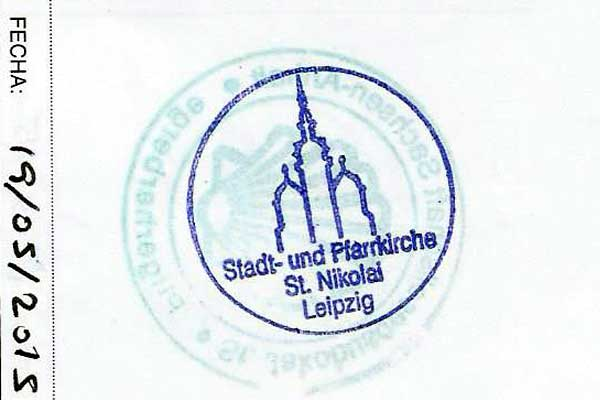 Sello de Leipzig