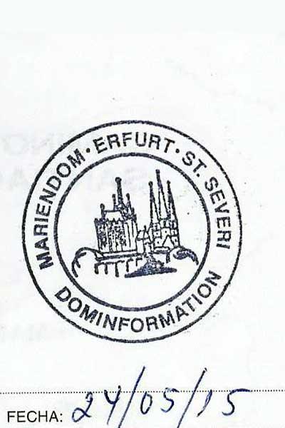 Sello de Erfurt