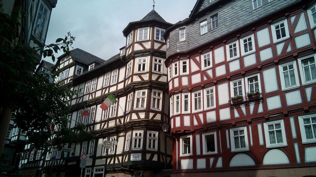 Casas típicas de Marburg