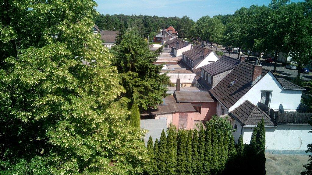 Casitas de Brück, desde la ventana del Joutel