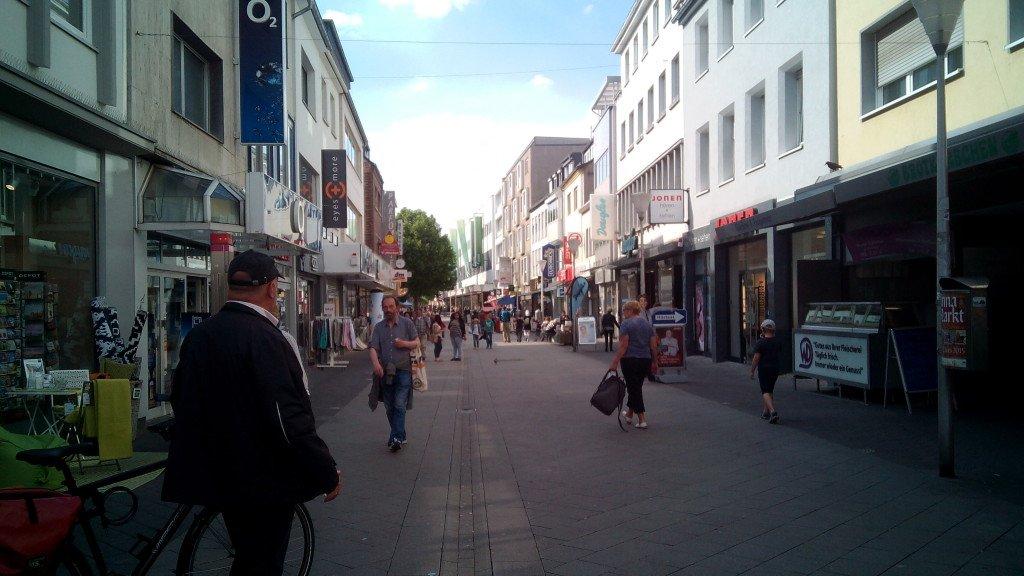 Una calle de Düren