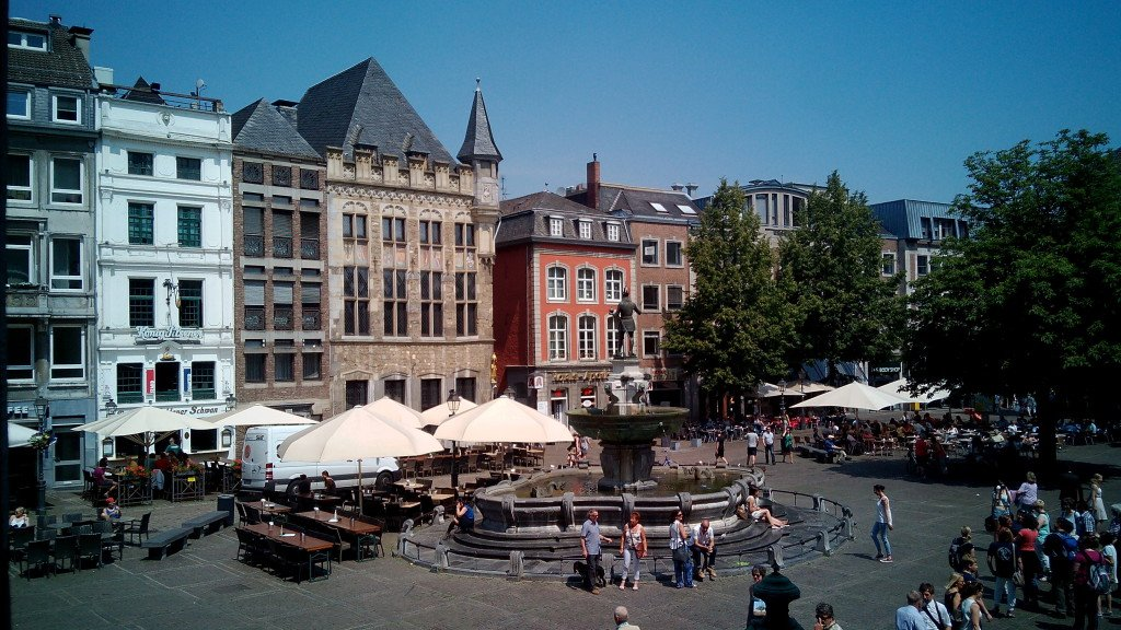 Una plaza en Aquisgrán