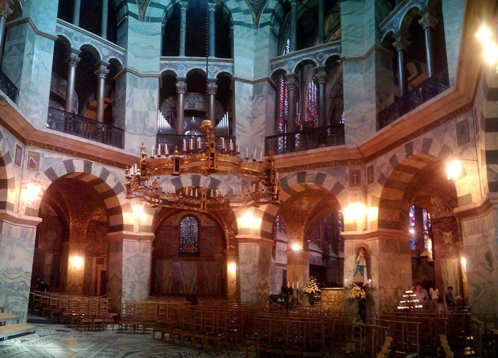 Realmente es bonita la catedral de Aquisgrán
