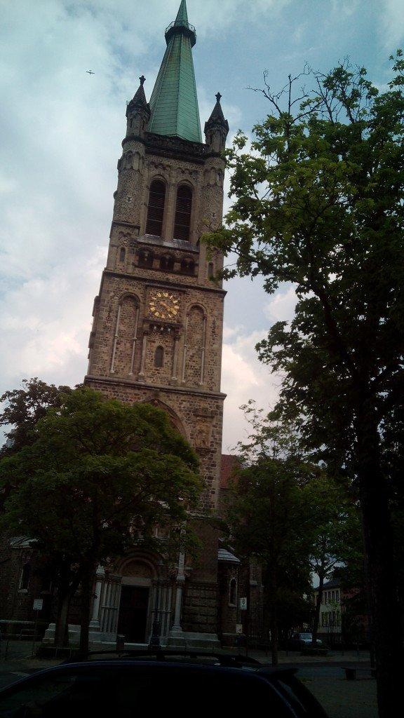 Iglesia de Santiago, en Aachen