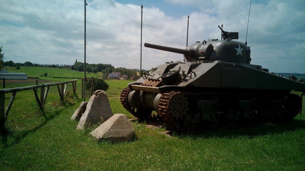 Tanque Sherman en el Museo de la Guerra