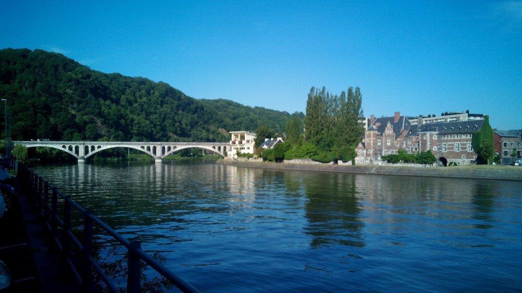 La Meuse. El rio Mosa.