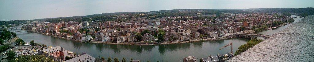 Panorámica de Namur