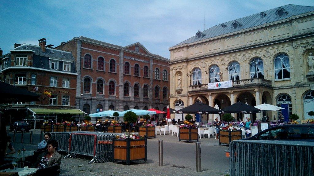 Una plaza en Namur