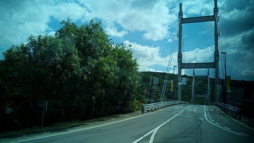 Puente frontera Belgica - Francia