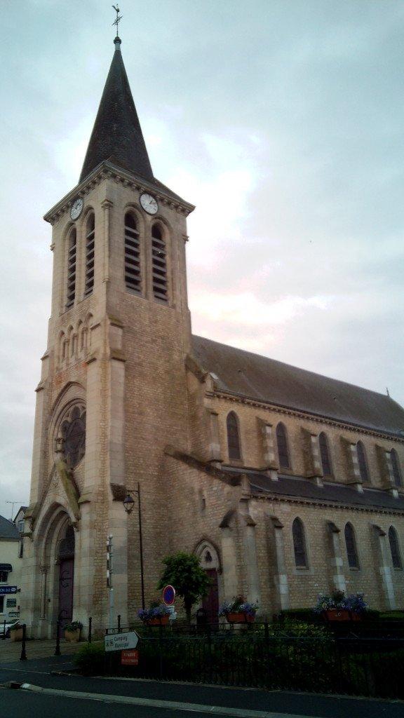 Iglesia de San Miguel, en Signy L'Abbaye