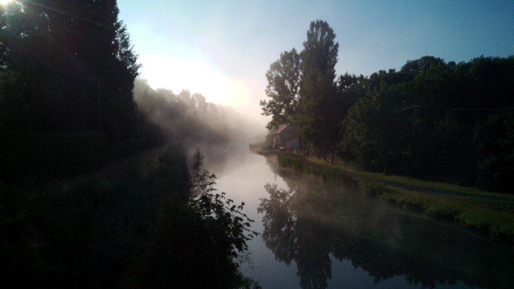 Así de bonito estaba el río Aisne