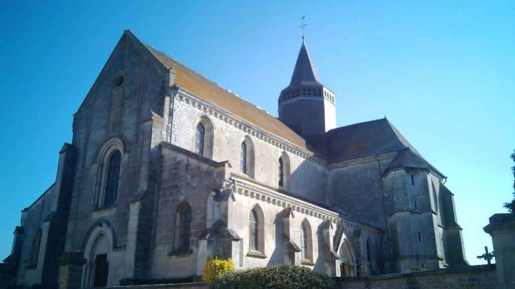 Église st-Remi, en Avançon