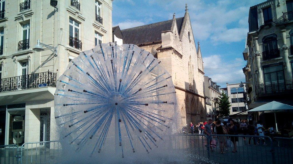 Fuente en Reims