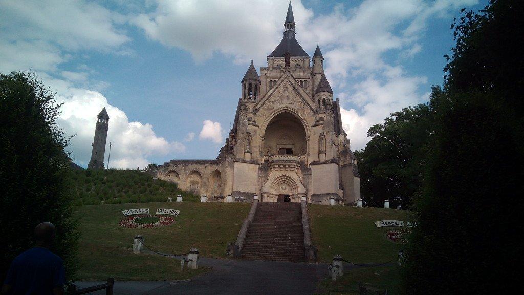 Monumento en Dormans a los caídos en la Primera Guerra Mundial