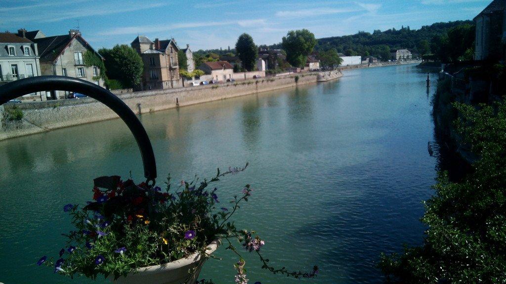 El Marne, desde el puente