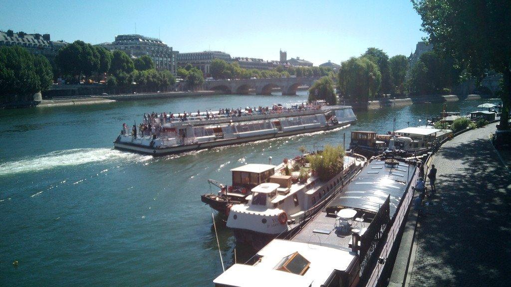 El Sena y sus Cruceros