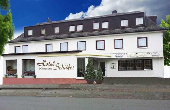 Hotel Schaefer, nuesto alojamiento de hoy