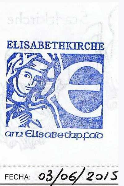 Sello de la iglesia de Santa Elisabeth, Santa Isabel para los amigos