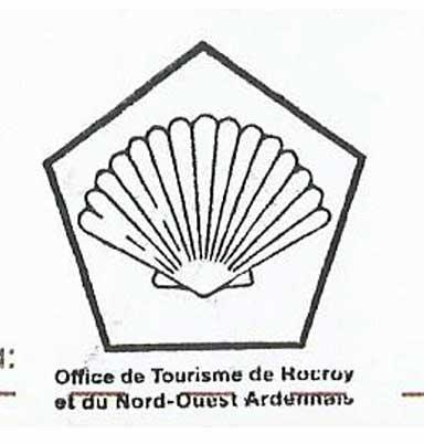 Sello de la oficina de turismo de Rocroy