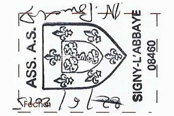 Sello de Signy L'Abbaye