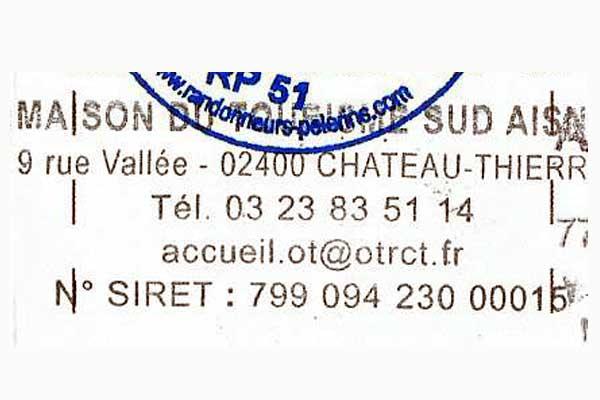 Sello de Château Thierry