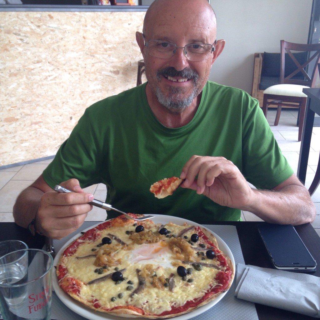 Cenando en Sorigny
