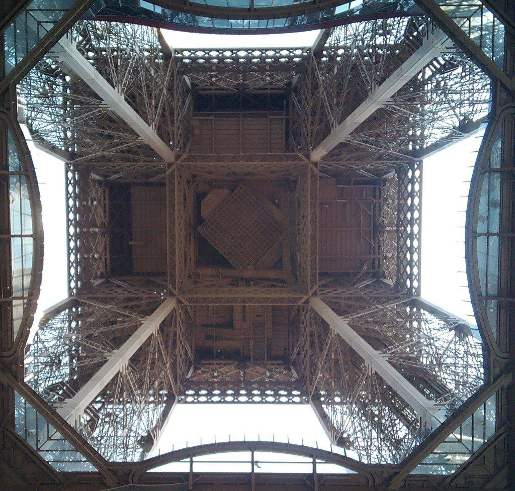 Esto es la Torre Eiffel