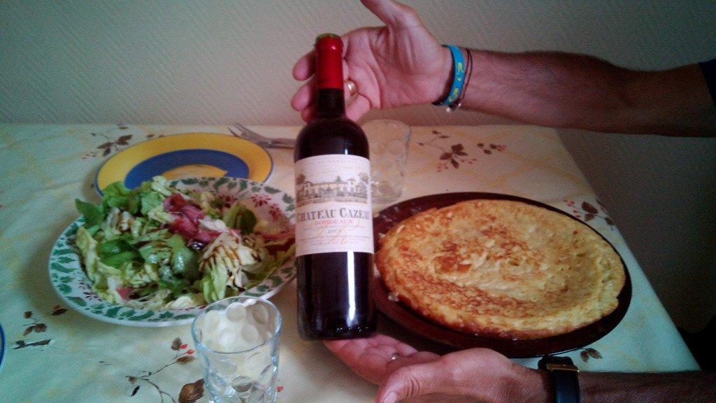 La maravillosa tortilla española de Salvador