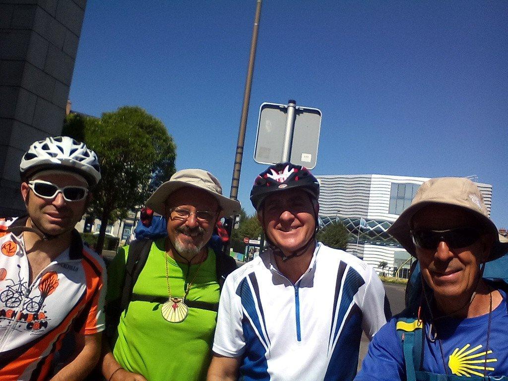 Con Pedro y Pablo, de Burgos
