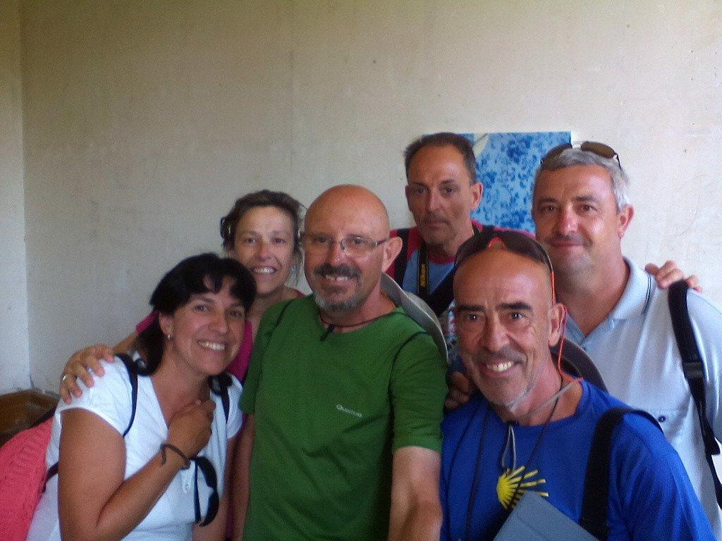 Con estos amigos asturianos, de Caldás