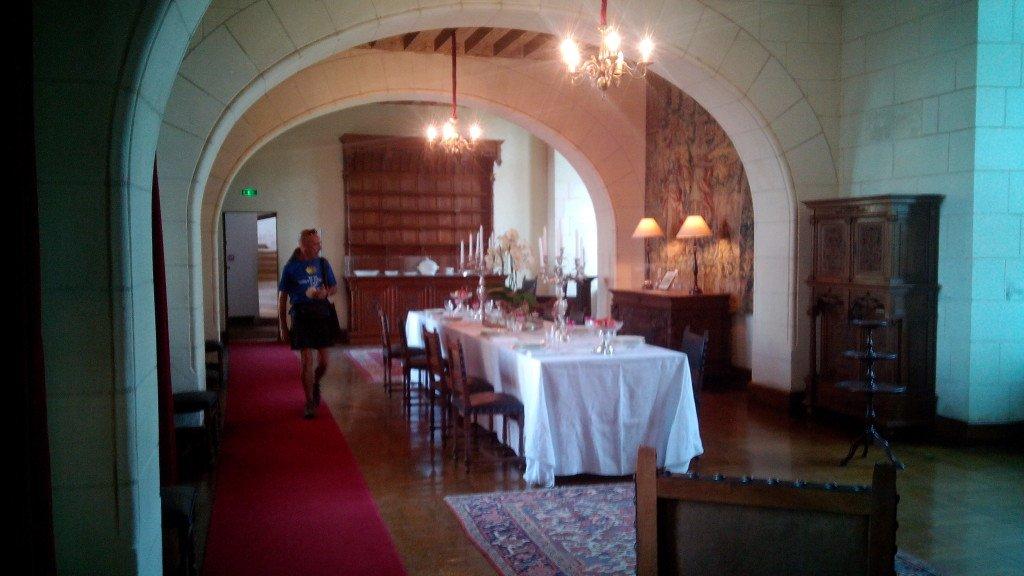 Un comedor del castillo