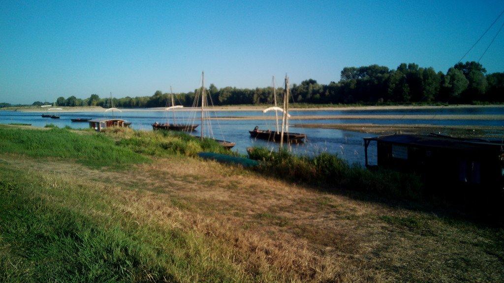 Barquitos sobre el Loira