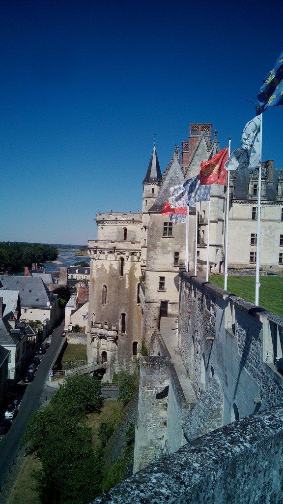 EL Castillo de Amboise, desde el castillo