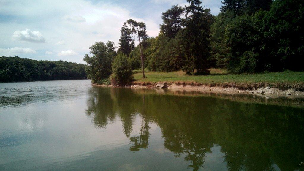 Río Cher, saliendo de Tours