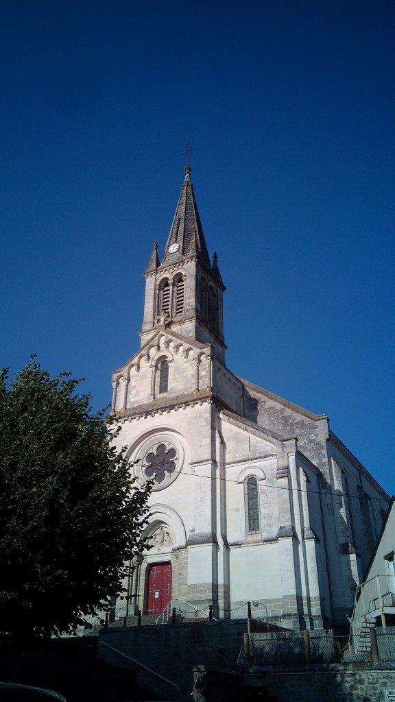 La iglesia de Sainte Maure
