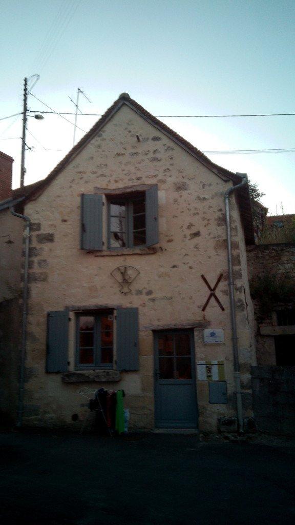 El albergue de Sainte Maure de Tourane