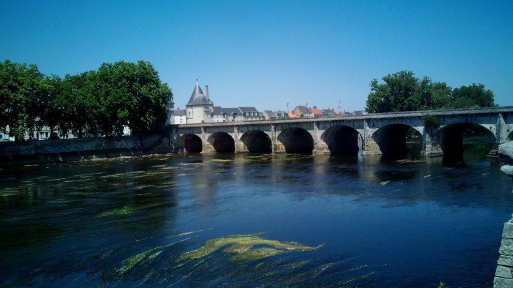 Río Vienne, en Chatellerau