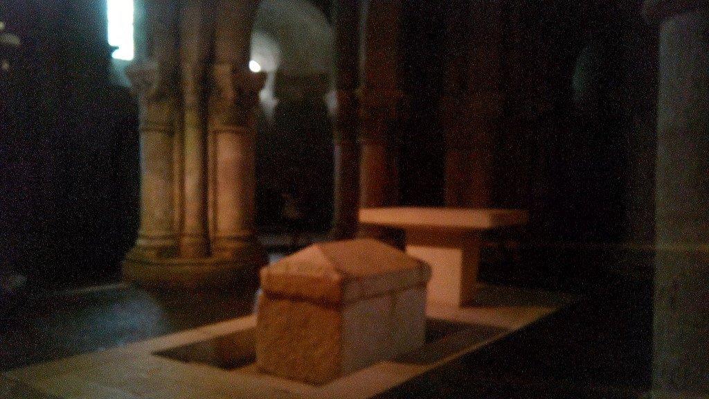 Aquí está enterrado San Eutrope