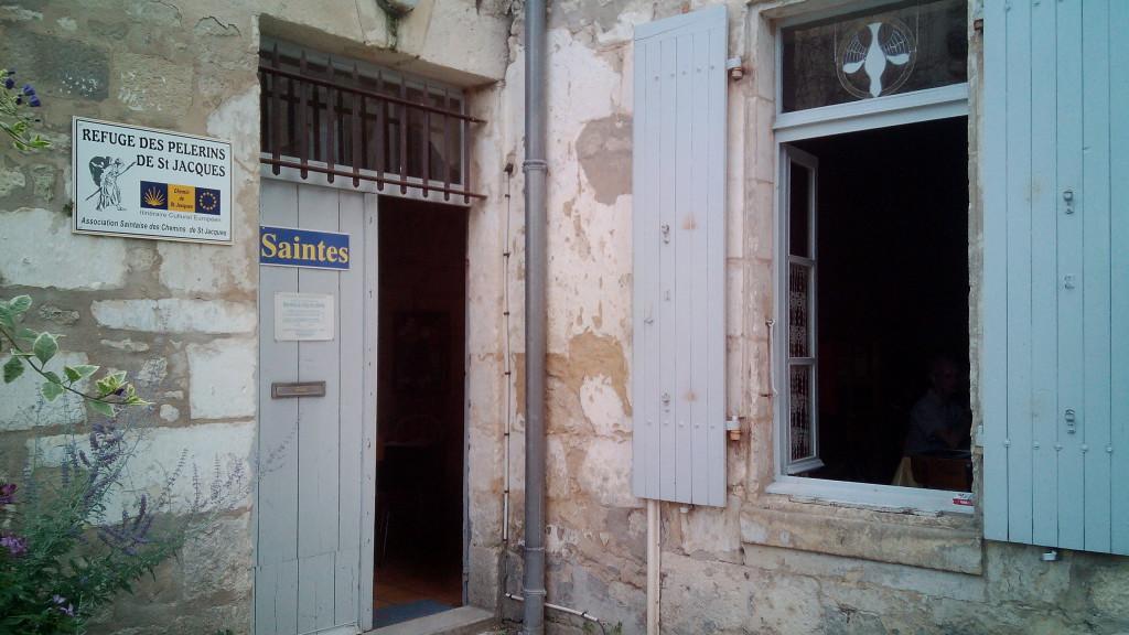 El albergue de Saintes