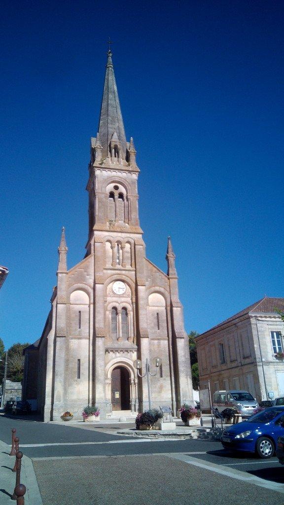 Iglesia de Mirambeau
